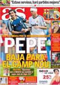 Portada diario AS del 21 de Agosto de 2012