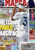 Portada diario Marca del 21 de Agosto de 2012