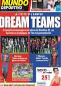 Portada Mundo Deportivo del 21 de Agosto de 2012