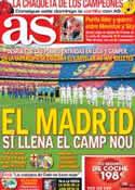 Portada diario AS del 22 de Agosto de 2012