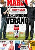 Portada diario Marca del 22 de Agosto de 2012