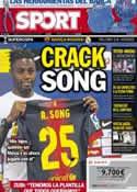 Portada diario Sport del 22 de Agosto de 2012