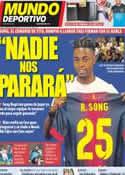 Portada Mundo Deportivo del 22 de Agosto de 2012