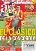 Portada diario AS del 23 de Agosto de 2012
