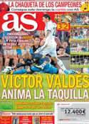 Portada diario AS del 24 de Agosto de 2012