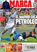 Portada diario Marca del 24 de Agosto de 2012