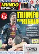 Portada Mundo Deportivo del 24 de Agosto de 2012