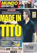 Portada Mundo Deportivo del 25 de Agosto de 2012