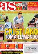 Portada diario AS del 26 de Agosto de 2012