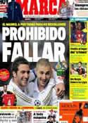 Portada diario Marca del 26 de Agosto de 2012
