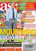 Portada diario AS del 27 de Agosto de 2012