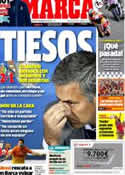 Portada diario Marca del 27 de Agosto de 2012