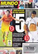 Portada Mundo Deportivo del 27 de Agosto de 2012