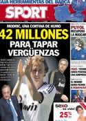 Portada diario Sport del 28 de Agosto de 2012