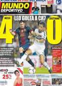 Portada Mundo Deportivo del 28 de Agosto de 2012