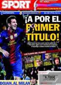 Portada diario Sport del 29 de Agosto de 2012