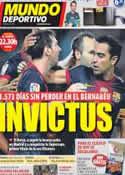 Portada Mundo Deportivo del 29 de Agosto de 2012