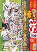 Portada diario AS del 30 de Agosto de 2012