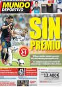 Portada Mundo Deportivo del 30 de Agosto de 2012