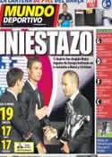 Portada Mundo Deportivo del 31 de Agosto de 2012