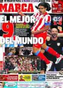 Portada diario Marca del 1 de Septiembre de 2012