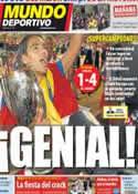 Portada Mundo Deportivo del 1 de Septiembre de 2012