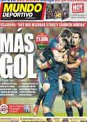 Portada Mundo Deportivo del 2 de Septiembre de 2012