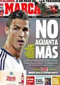Portada diario Marca del 3 de Septiembre de 2012