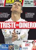 Portada Mundo Deportivo del 4 de Septiembre de 2012