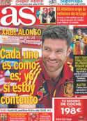 Portada diario AS del 5 de Septiembre de 2012
