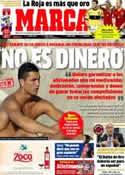 Portada diario Marca del 5 de Septiembre de 2012