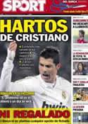 Portada diario Sport del 5 de Septiembre de 2012