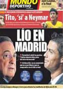 Portada Mundo Deportivo del 5 de Septiembre de 2012