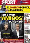 Portada diario Sport del 6 de Septiembre de 2012