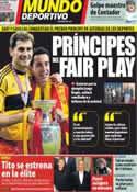 Portada Mundo Deportivo del 6 de Septiembre de 2012