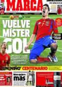 Portada diario Marca del 7 de Septiembre de 2012