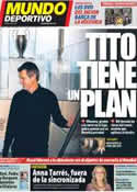 Portada Mundo Deportivo del 7 de Septiembre de 2012