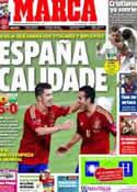 Portada diario Marca del 8 de Septiembre de 2012