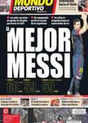 Portada Mundo Deportivo del 10 de Septiembre de 2012