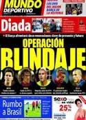 Portada Mundo Deportivo del 11 de Septiembre de 2012