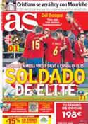 Portada diario AS del 12 de Septiembre de 2012