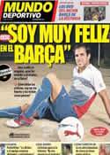 Portada Mundo Deportivo del 13 de Septiembre de 2012
