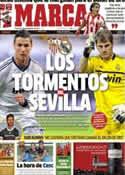 Portada diario Marca del 14 de Septiembre de 2012