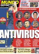 Portada Mundo Deportivo del 15 de Septiembre de 2012