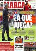 Portada diario Marca del 16 de Septiembre de 2012