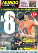 Portada Mundo Deportivo del 16 de Septiembre de 2012