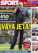 Portada diario Sport del 17 de Septiembre de 2012