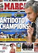 Portada diario Marca del 18 de Septiembre de 2012