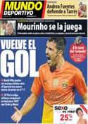 Portada Mundo Deportivo del 18 de Septiembre de 2012