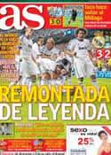 Portada diario AS del 19 de Septiembre de 2012